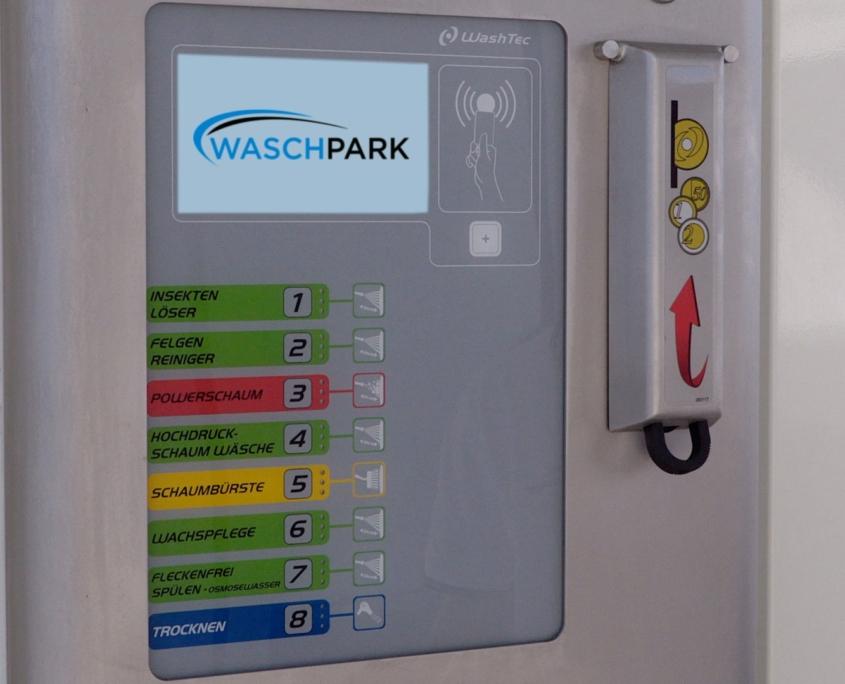 Waschpark Ebergassing SB-Waschbox Programme